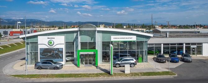Porsche Wiener Neustadt: Autohaus & Servicebetrieb