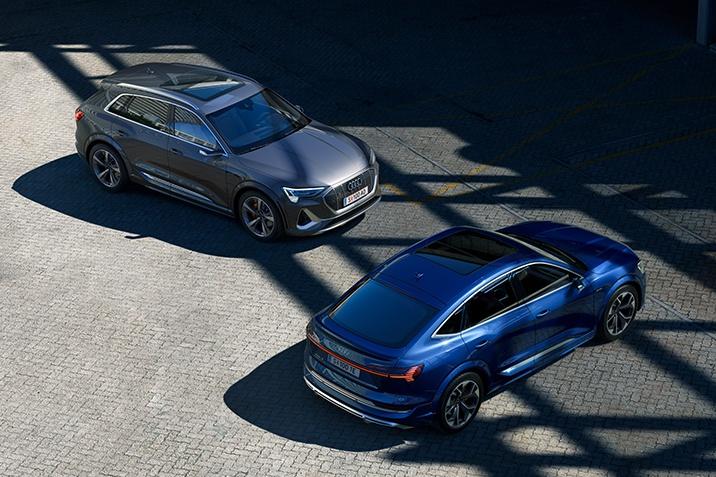 Audi e-tron S Modelle